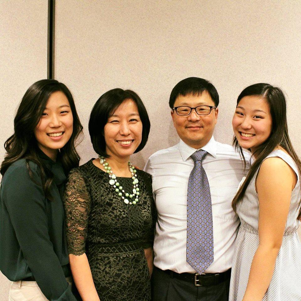 Sanghoon Yoo and Family