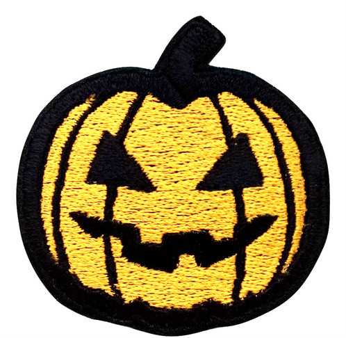 get amazing value with our high premium quality halloween party pumpkin embroidered iron on sew on patches