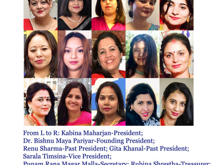 Women for Cause (WFC)'s New Executive Committee 2020-2022 Elected
