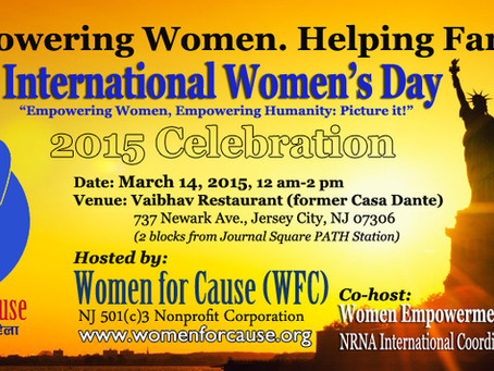 Invitation: International Women's Day 2015