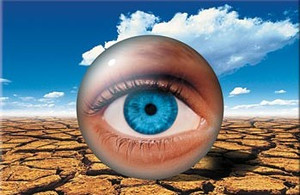 What's the good news about having dry eyes?