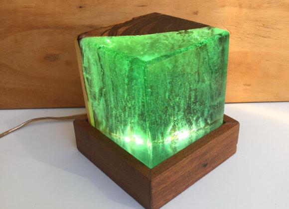 Luminária de Mesa - Box Verde