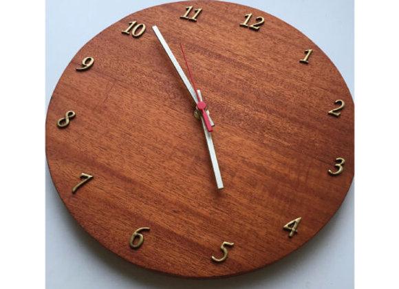 Relógio de Parede - Mogno