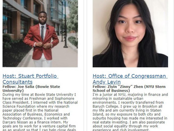 Welcome Labor Capital Strategies Spring 2021 Fellows!