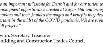 AFL-CIO HIT Subsidiary Building America CDE, Inc. Allocates $14.5 M in New Market Tax Credits for Su