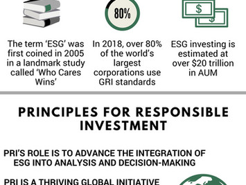 The Remarkable Rise Of ESG