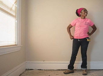 She didn't quit, she didn't cry, she became a union carpenter