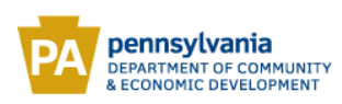 PA Dept of Commerce & Economic Dev