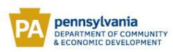 PA Dept of Commerce & Economic Dev