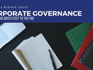 Corporate Governance Webinar