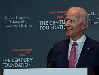 Vice President Joe Biden & Senator Kirsten Gillibrand Headline Century Foundation Summit in DC f