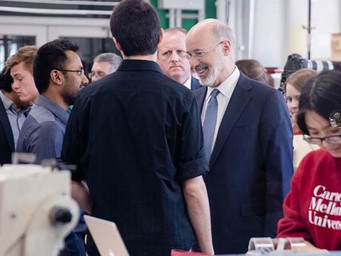 Wolf hoping for on-time budget, more money for workforce initiatives