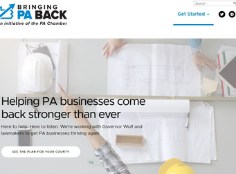 "PA Chamber launches website for ""Bring Back PA"" recovery initiative"