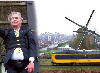 Dutch Trains Are World's First to Run on 100% Wind Power