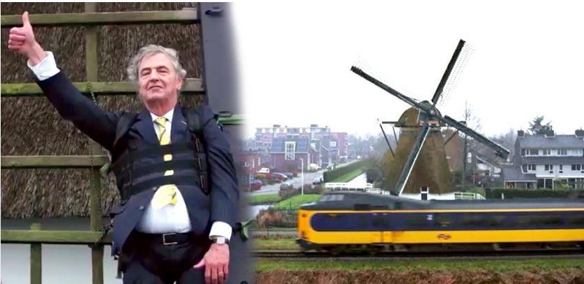 Dutch Trains Windmill