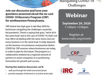NW PA Webinar: Navigating COVID Challenges
