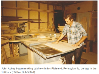 Family-owned Plain & Fancy Custom Cabinetry handcrafts every door, drawer