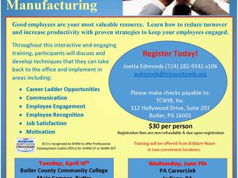 Free Training - Employee Engagement and Retention