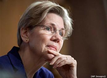 Elizabeth Warren Nails GOP Financial Exec