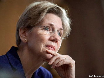 Elizabeth Warren Nails GOP Financial Exec