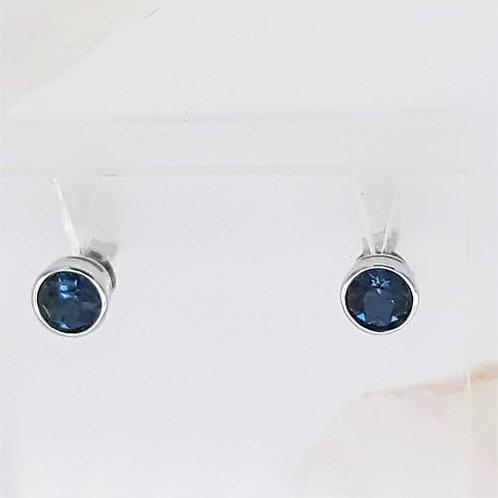 MONTANA BLUE STUD EARRINGS