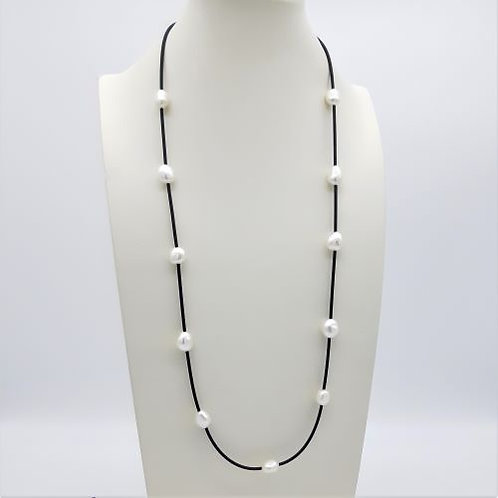 CULTURED PEARL LONG NECKLACE