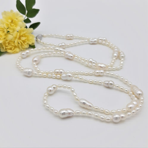 ROPE OF PEARLS, LONG LENGTH STRAND