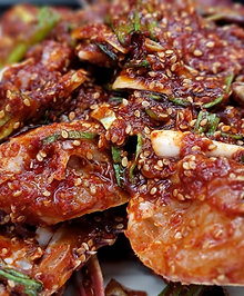 양념게장 MARINATED SPICY RAW CRAB, 20조각/PIECES- 3인분/SERVINGS