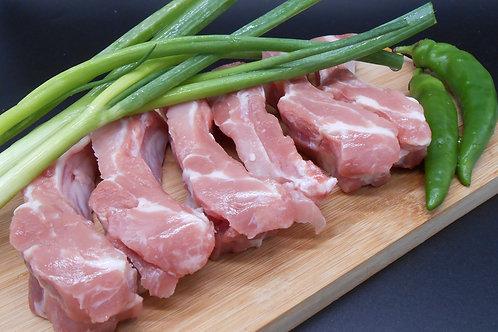 양념된 돼지등갈비 MARINATED SPICY PORK BACK RIB, 2인분/SERVINGS