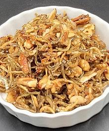 견과류 멸치볶음  STIR FRIED ANCHOVIES WITH NUTS