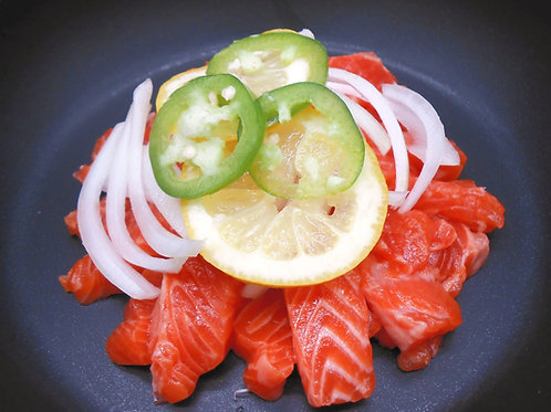 연어장 SOY-SAUCE MARINATED SALMON SASHIMI - 3 SERVINGS/3인분