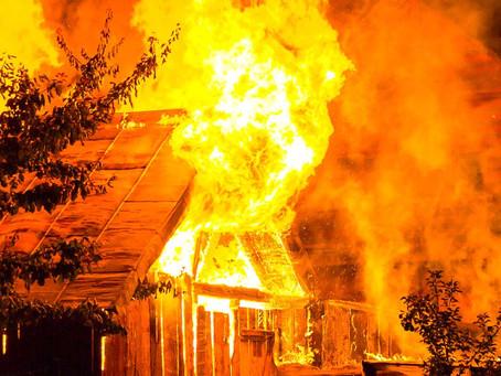 נזקי אש / שריפה - 15 שלבים בתביעת ביטוח