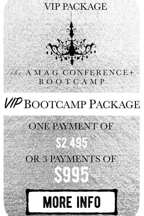 VIP Bootcamp Package