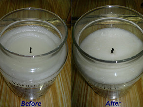 Repairing / Fixing your Yankee Candle jars and tips !