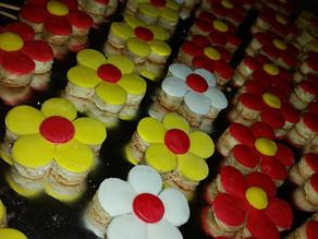 Almond Flower Cookies