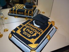 Graduation Book Cake !!!