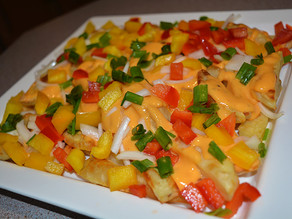 Healthy Cheesy Potatoes !