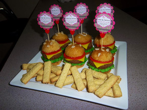Sweet Burger and French Fries Making-Of !