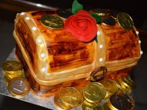 treasure box Cake!