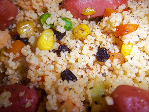 Special Catriona`s Couscous !!!