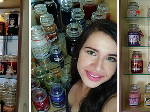 My Yankee Candle collection !
