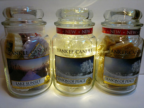 Cleaning your Yankee Candle jars !