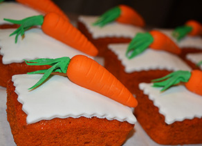 Special Carrot Cake with Vanilla