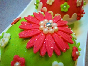 Bauble cakes - Making-of!