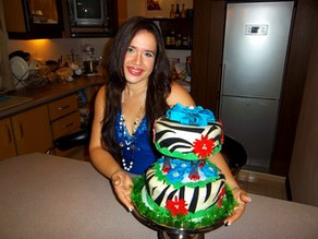 Zebra Cake Making-Of