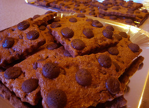 Buttony Chocolate cookies