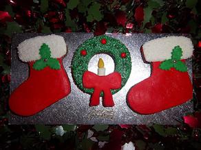 Christmas Fireplace Cookies