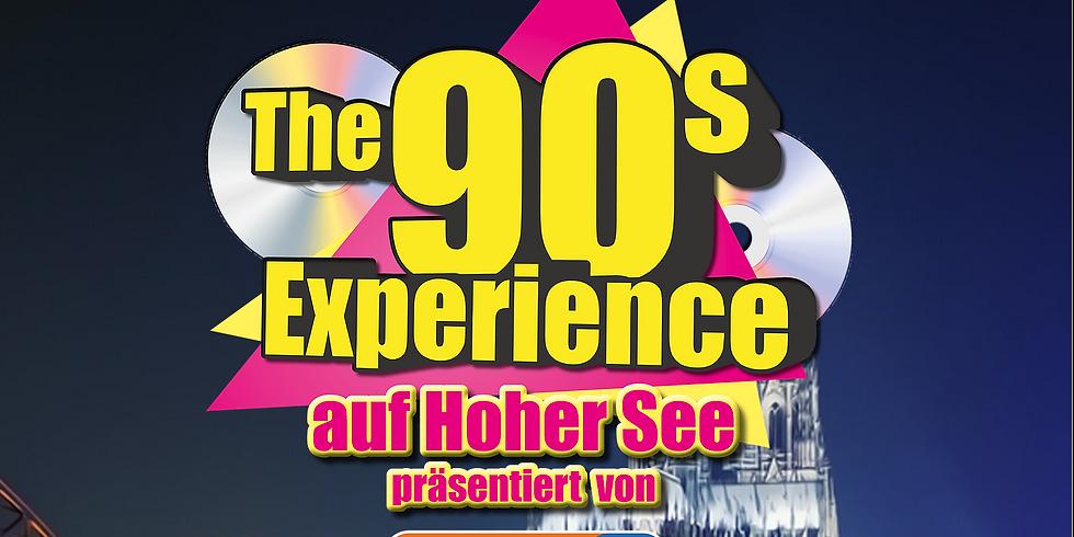"""The 90s Experience - Partyschiff KÖLN 2021 """"DAY & NIGHT-TOUR KOMBI"""""""