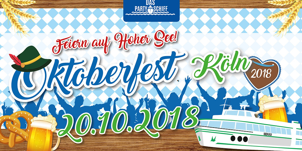 Oktoberfest Partyschiff Köln