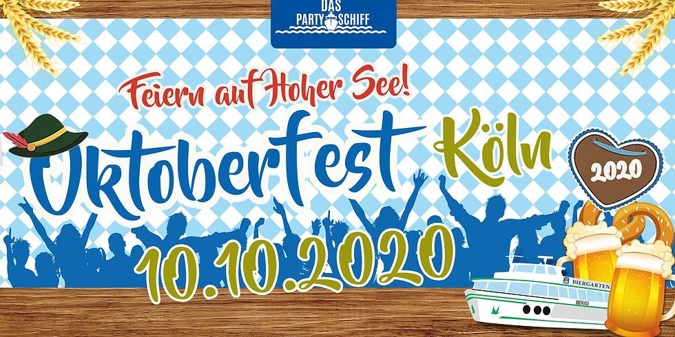 Oktoberfest Partyschiff Köln 16.10.2021